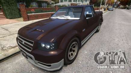 Vapid Contender With License Plates para GTA 4