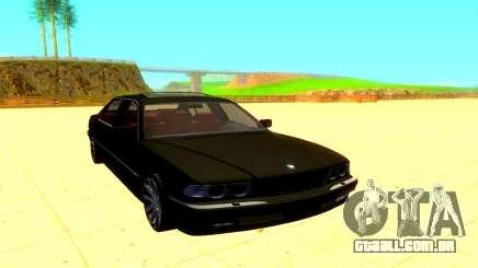 BMW E38 760L para GTA San Andreas
