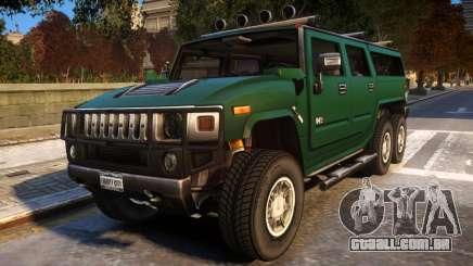 2008 Hummer H6 para GTA 4