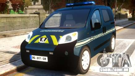 Peugeot Bipper Gendarmerie para GTA 4
