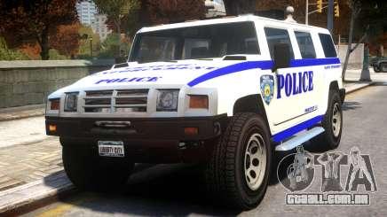 Police Patriot v1 para GTA 4