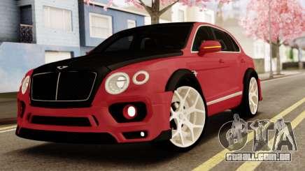 Bentley Bentayga para GTA San Andreas
