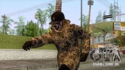 Run And Gun Skin 2 para GTA San Andreas