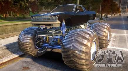 Cheval Picador Monster Truck para GTA 4
