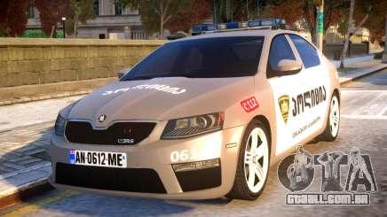 Skoda Octavia RS GEO POLICE para GTA 4