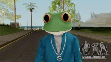Toad Frog Mask From The Sims 3 para GTA San Andreas