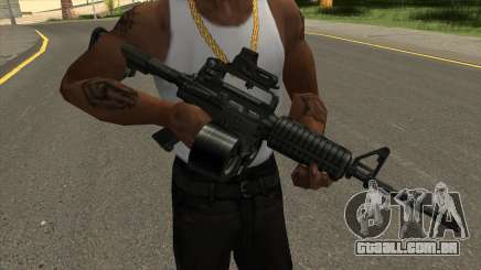 AR-15 Carabine para GTA San Andreas