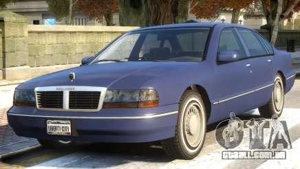 Chevy Caprice Classic V1.2 para GTA 4
