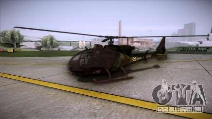SA.341 GAZELLE Wargame: Red Dragon para GTA San Andreas