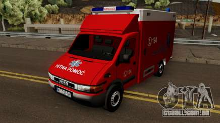Iveco Daily Mk2 Hitna Pomoc (RTW) para GTA San Andreas