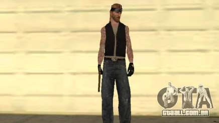 Eightball QFP gangue de motoqueiros para GTA San Andreas