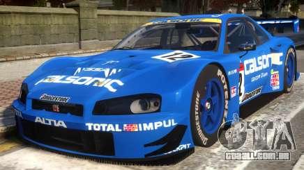 2003 Nissan Skyline JGTC para GTA 4