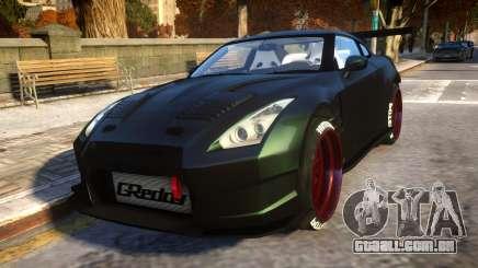 Nissan GTR Fast and Furious Movie car para GTA 4