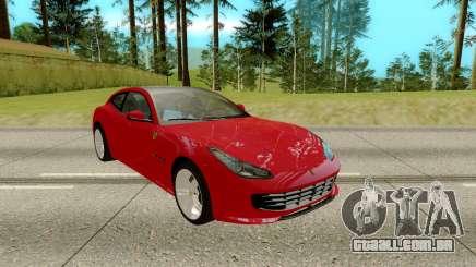 Ferrari GTC4 para GTA San Andreas