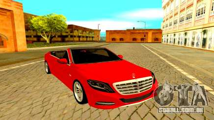 Mercedes-Maybach S600 X222 para GTA San Andreas