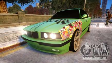 BMW M5 E34 Monster vs Turbo Style para GTA 4