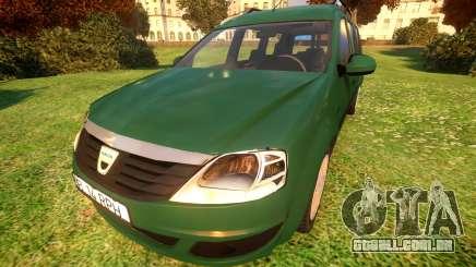 Dacia Logan MCV para GTA 4