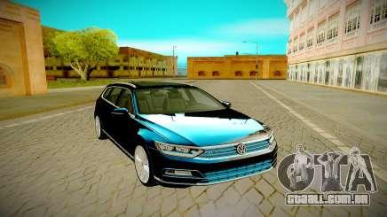 Volkswagen Passat Variant R 2016 para GTA San Andreas