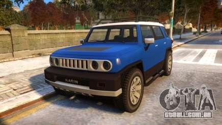 Karin BeeJay XL V1.1 para GTA 4