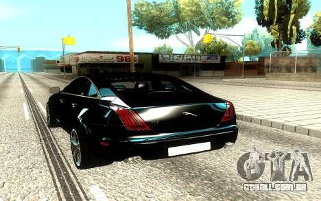 Jaguar XJ para GTA San Andreas