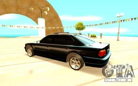BMW 750i E38 para GTA San Andreas
