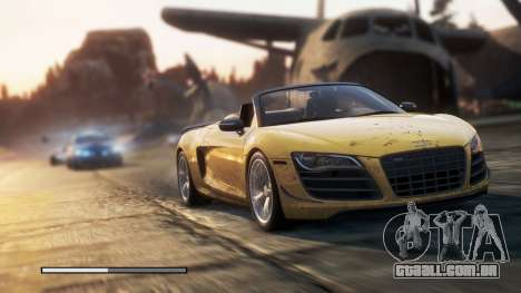 Need For Speed Most Wanted 2012 Loadscreen para GTA San Andreas terceira tela