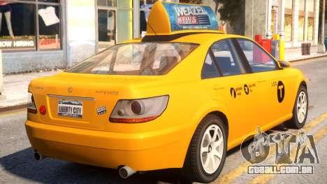 Karin Asterope LC Taxi para GTA 4