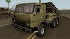 KamAZ-5410 BM-21 de pós-Graduação para GTA San Andreas