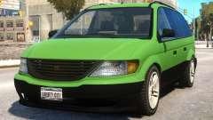 Minivan to Dodge Grand Caravan para GTA 4