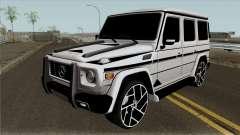 """A Mercedes-Benz G65 """"Bandido"""" para GTA San Andreas"""