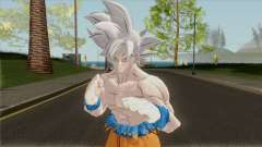 Goku Mastered Ultra Instinct from Dragon Ball para GTA San Andreas