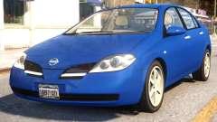 Nissan Primera 2002 v.1.0 para GTA 4