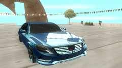 Mercedes-Benz S63 AMG 222 para GTA San Andreas