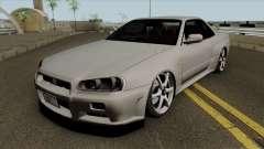 Nissan Skyline GT-R Spec VII 2002 Tunable para GTA San Andreas