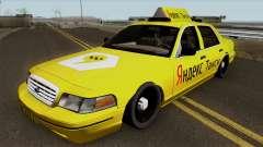 """Ford Crown Victoria """"Táxi Yandex"""" para GTA San Andreas"""