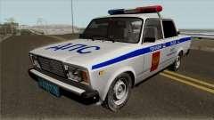 VAZ-2107 Polícia da cidade de Yaroslavl para GTA San Andreas