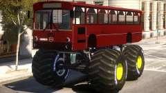 Bus Monster Truck V2 para GTA 4