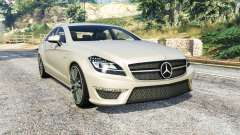 Mercedes-Benz CLS 63 AMG (C218) v1.3 [replace] para GTA 5