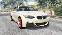 BMW M235i (F22) 2014 v1.1 [replace] para GTA 5