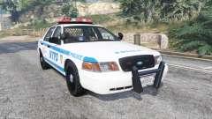 Ford Crown Victoria NYPD CVPI v1.1 [replace] para GTA 5