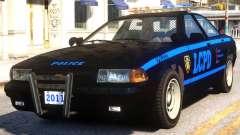 Vapid Stanier Gen2 Cruiser Code 3 MX7000 para GTA 4