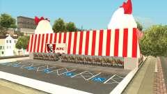 Ocean Flats KFC Restaurant para GTA San Andreas