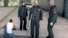Do Cantão De Sarajevo Policiais Pack para GTA San Andreas