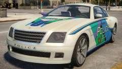 Fusilade V6 3.0i Cop Car para GTA 4