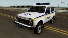 VAZ 2121 Polícia da Ucrânia para GTA San Andreas