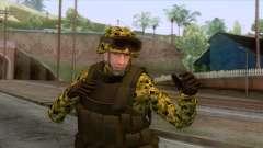 Sweden Army Skin para GTA San Andreas