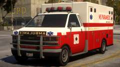 Ambulance Real New York para GTA 4