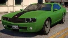 Bravado Gauntlet Muscle Car Rims para GTA 4