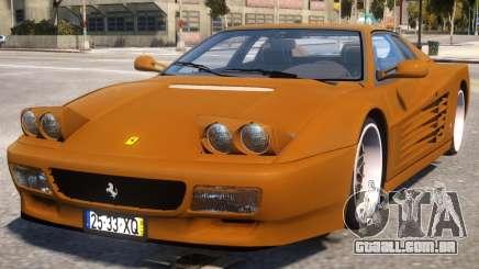 Gold Ferrari 512 para GTA 4