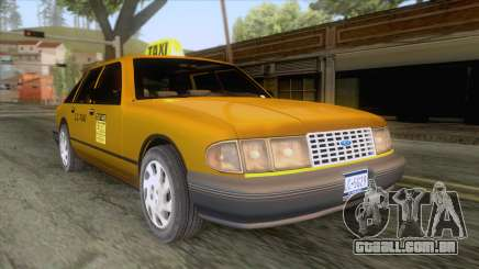 New Taxi HD para GTA San Andreas